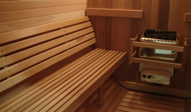 Sauna intérieur - GardenSKoncept