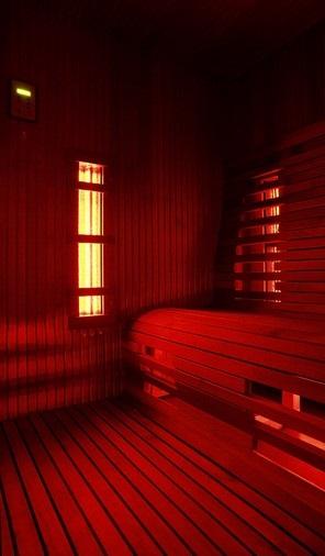 Cabine infrarouge - Intérieur avec GardenSKoncept