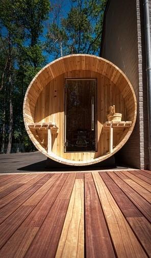 Sauna - Projet de wellness (GardenSKoncept)