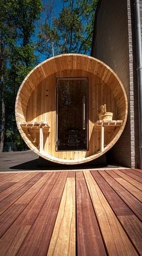 Sauna extérieur - GardenSKoncept