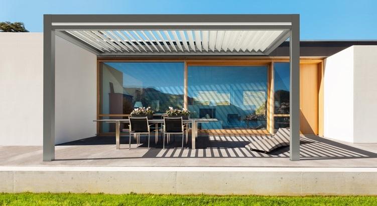 Projet architecture extérieure - Pergola