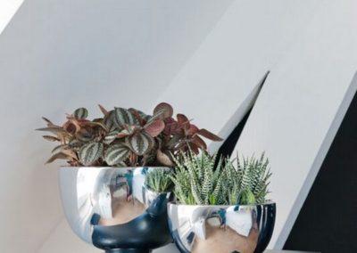 Pot fleur plante miroir design Pottery Pots