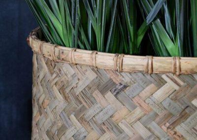 Pot plante panier bohème