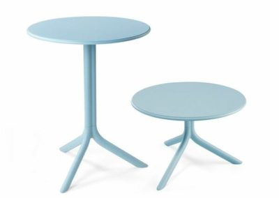 Tables bleues Nardi