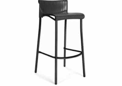 Chaise haute noire Nardi