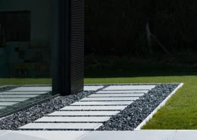 Aménagement d'un jardin - Sentier en pierre