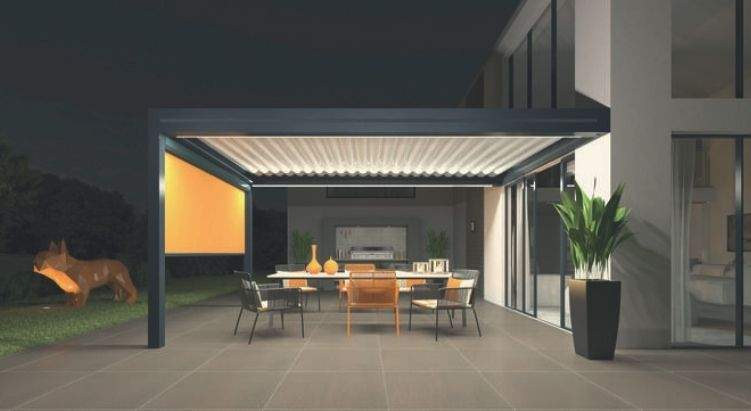 Pergola bioclimatique - Art home alu