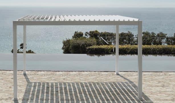 Pergola Pacific en alu pour votre terrasse
