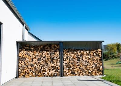 Abri de bois - Aménagement de jardin