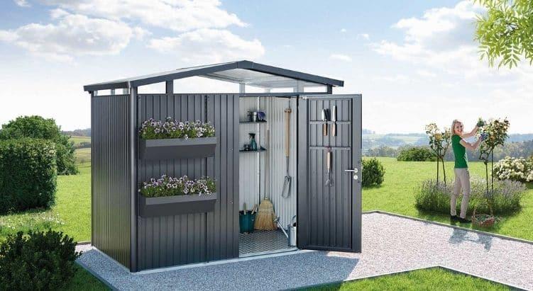 Biohort - Abri de jardin sécurisé, robuste et élégant