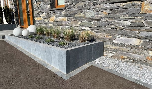 Aménagement extérieur avec Bauma Stone