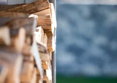 Abri de bois - Aménagement extérieur avec GardenSKoncept