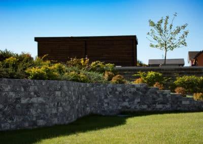 Aménagement de jardin - Muret en pierre