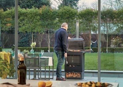 Repas de famille - barbecue