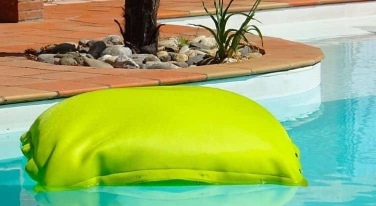 Pouf vert de la marque Shelto