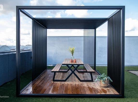 Pergola moderne et design - Aluvision