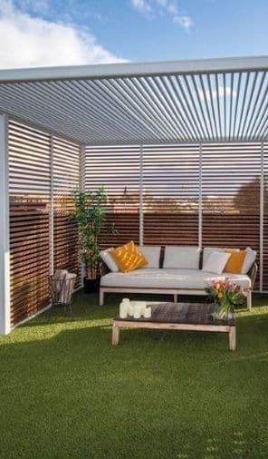Pergola terrasse avec GardenSKoncept au Luxembourg